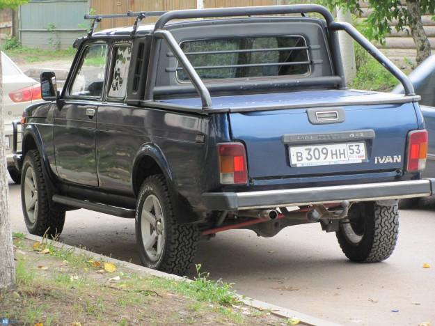 ВАЗ-2329 - российский внедорожник