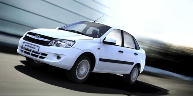 Около 14 тыс машин Lada Granta будут возвращены на доработку