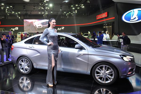 Автомобили Lada стали дороже на 16-18 тысяч рублей