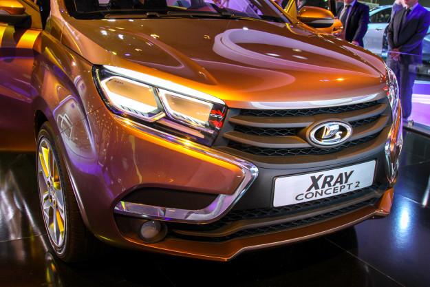 Внешний вид Lada Xray