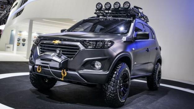 Новая Chevrolet Niva 2015