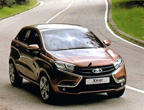 Технические характеристики Lada XRAY