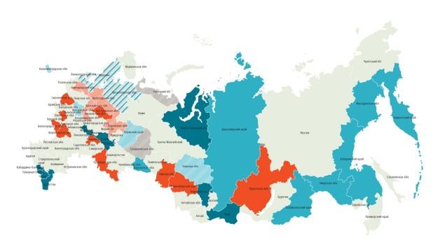 22 города, в которых поступят первые Lada Vesta