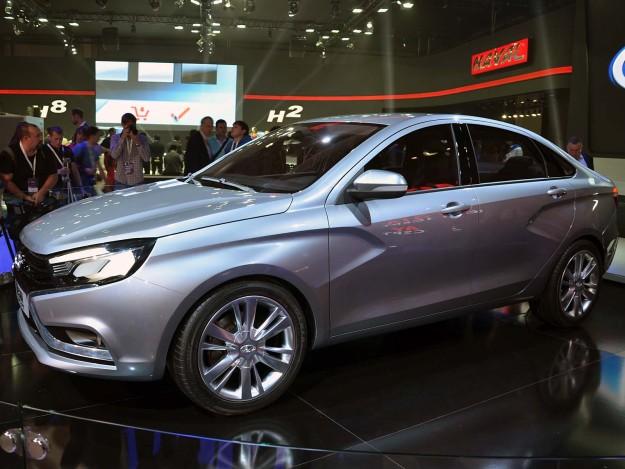 Цена автомобиля Lada Vesta будет высока