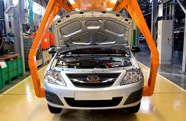 Продажи «АвтоВАЗа» в августе сократились на 23,8%