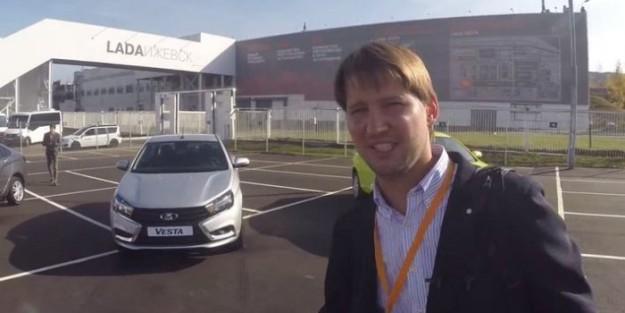 Видео тест-драйва новой Lada Vesta можно найти и в сети