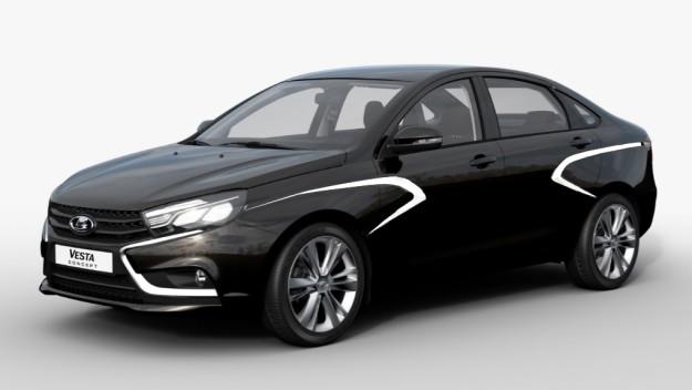 LADA Vesta: с конвейера в Ижевске сошел первый автомобиль